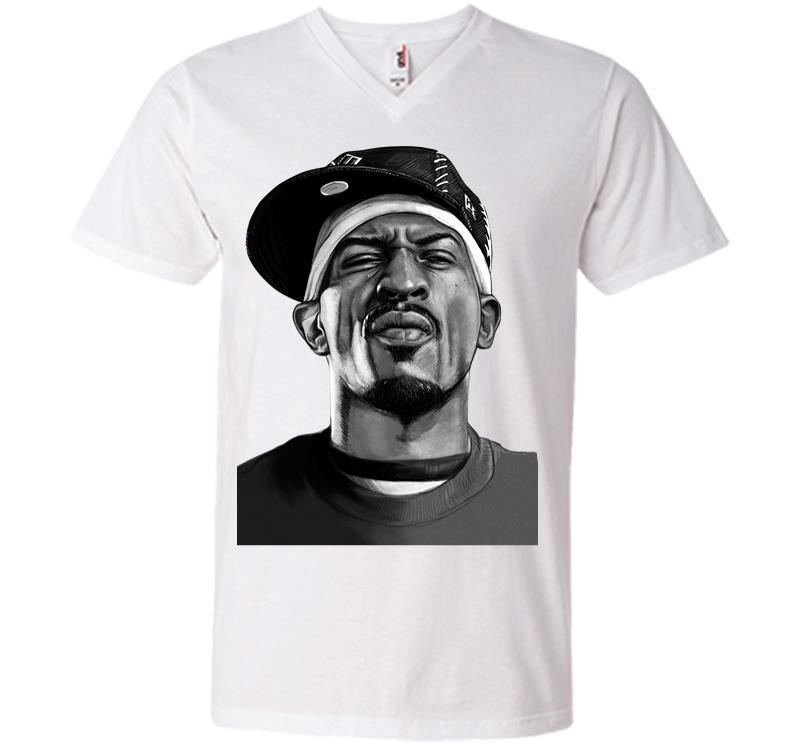 Rap Legend Is Coming To New Orleans V-neck T-shirt Inktee Store