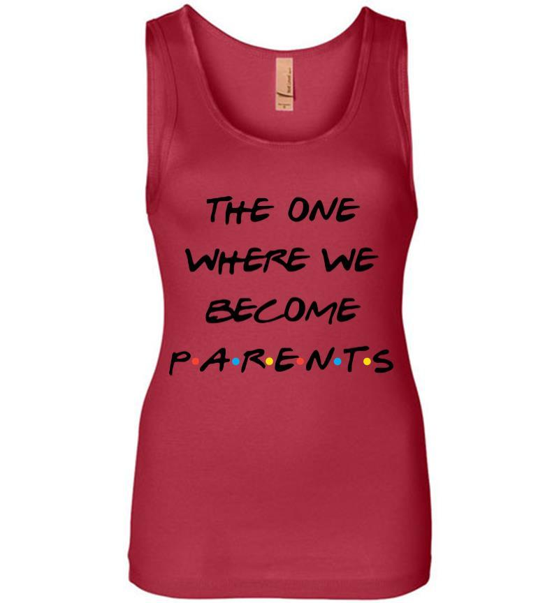 The One Where We Become Parents Women Jersey Tank Top Inktee Store