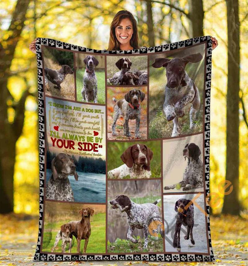 German Shorthaired Pointer I Know I'm Just A Dog Ultra Soft Cozy Plush Fleece Blanket