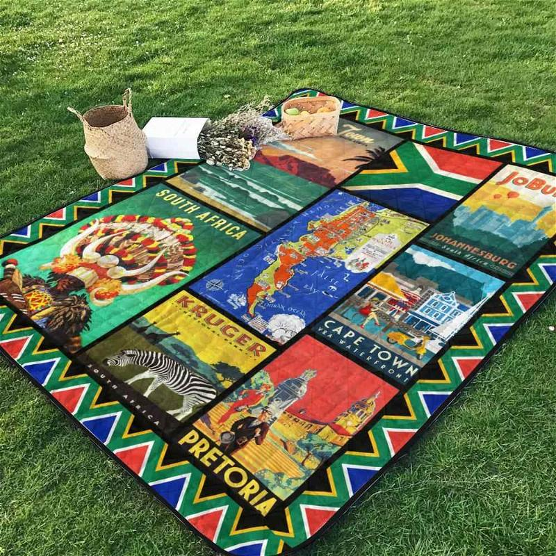 South Africa Blanket TH1507 Quilt