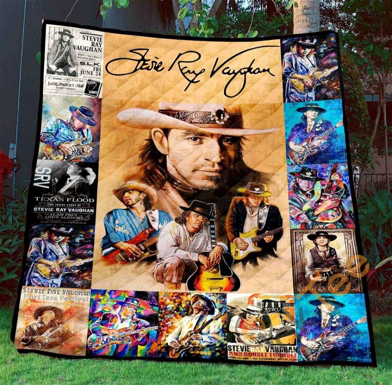 Stevie Ray Vaughan 1 Blanket TH1507 Quilt