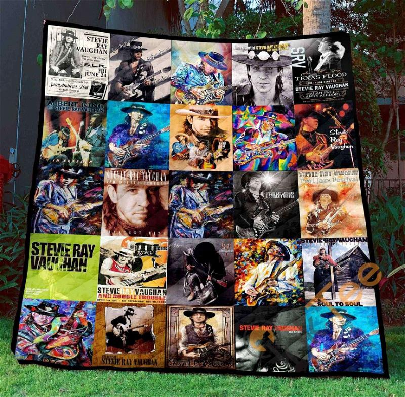 Stevie Ray Vaughan 2 Blanket TH1507 Quilt