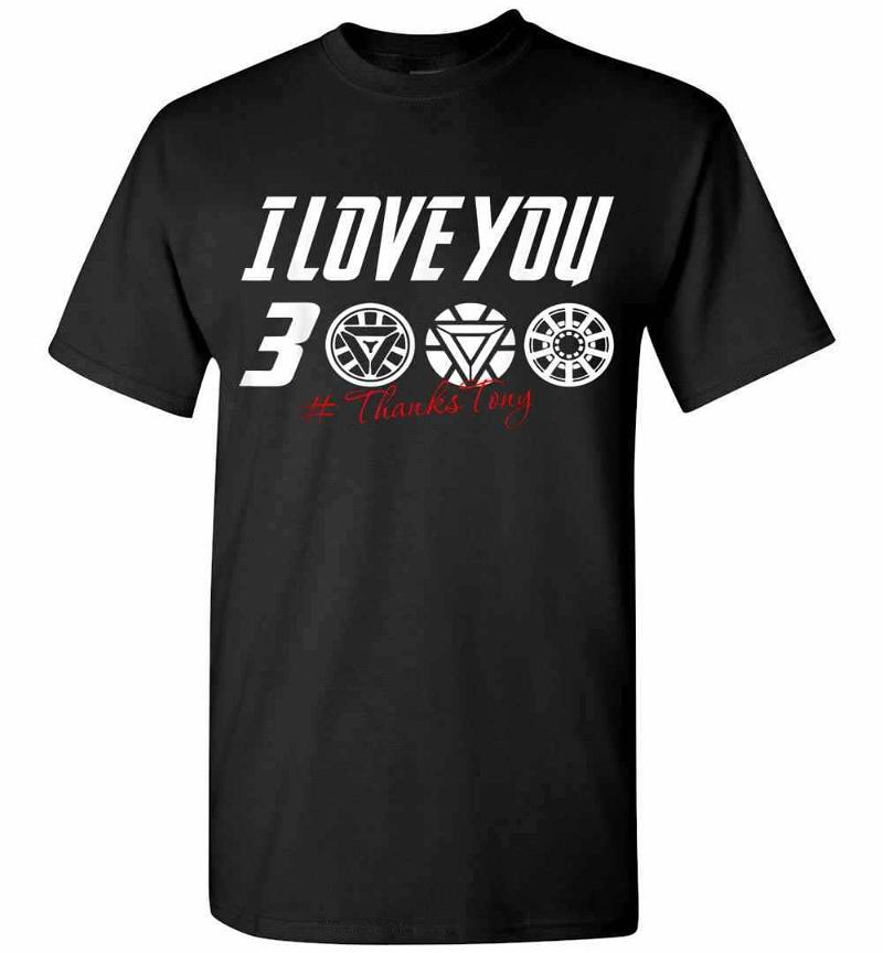 Dad I Love You 3000 Iron Man Men's T-shirt Inktee Store