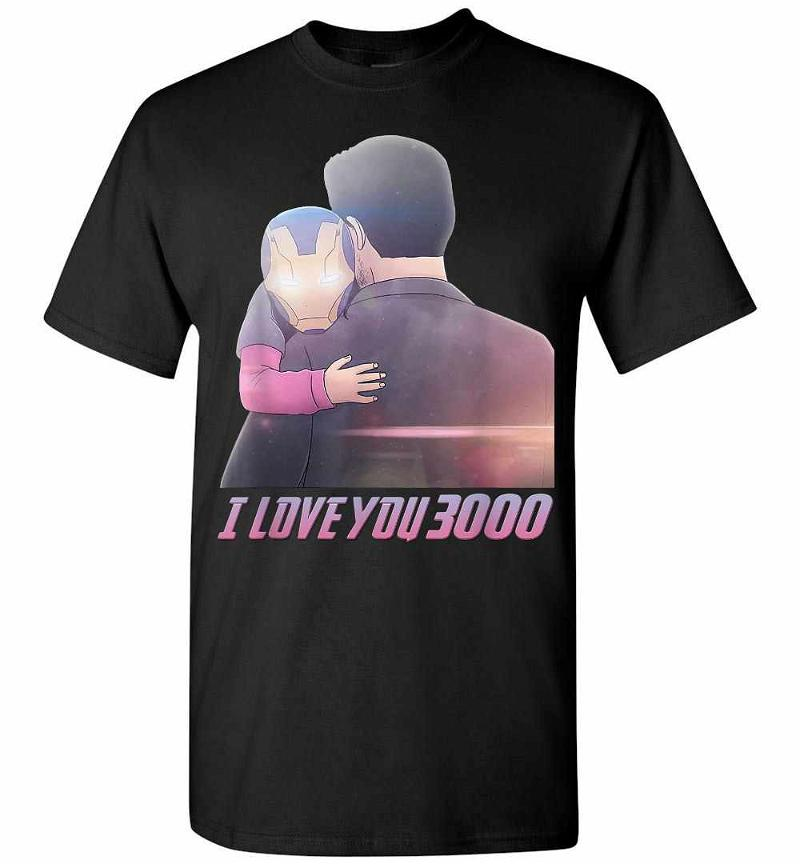 Trending I Love You 3000 Fathers Day Marvel Avengers Men's T-shirt Inktee Store