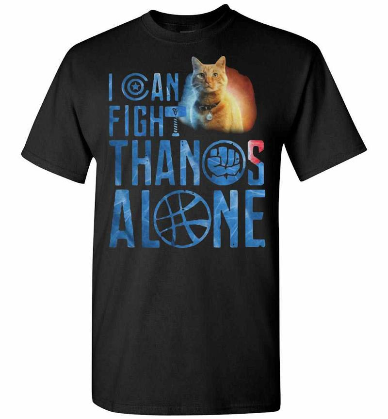 Cat Goose I Can Fight Thanos Alone Men's T-shirt Inktee Store
