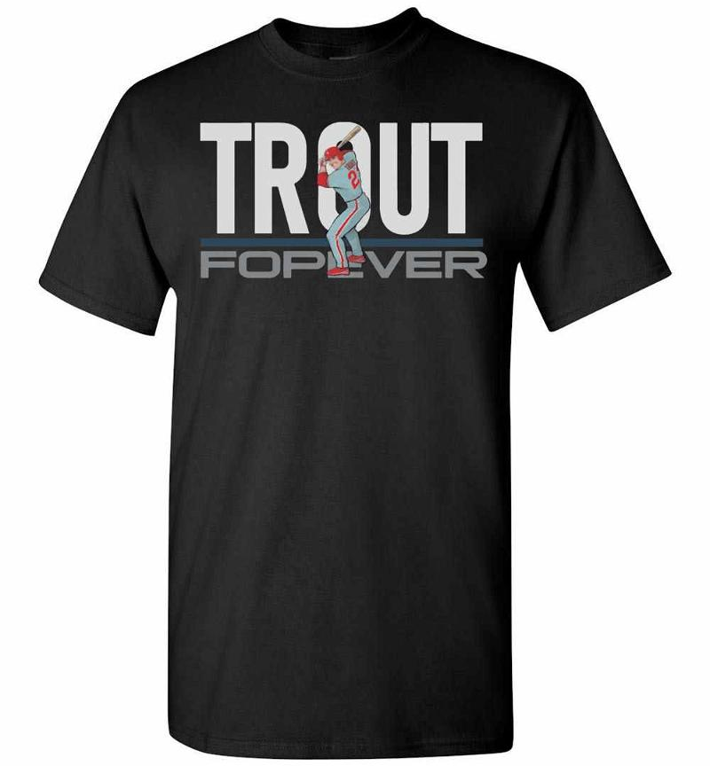 Mike Trout Forever Sweathirt Men's T-shirt Inktee Store