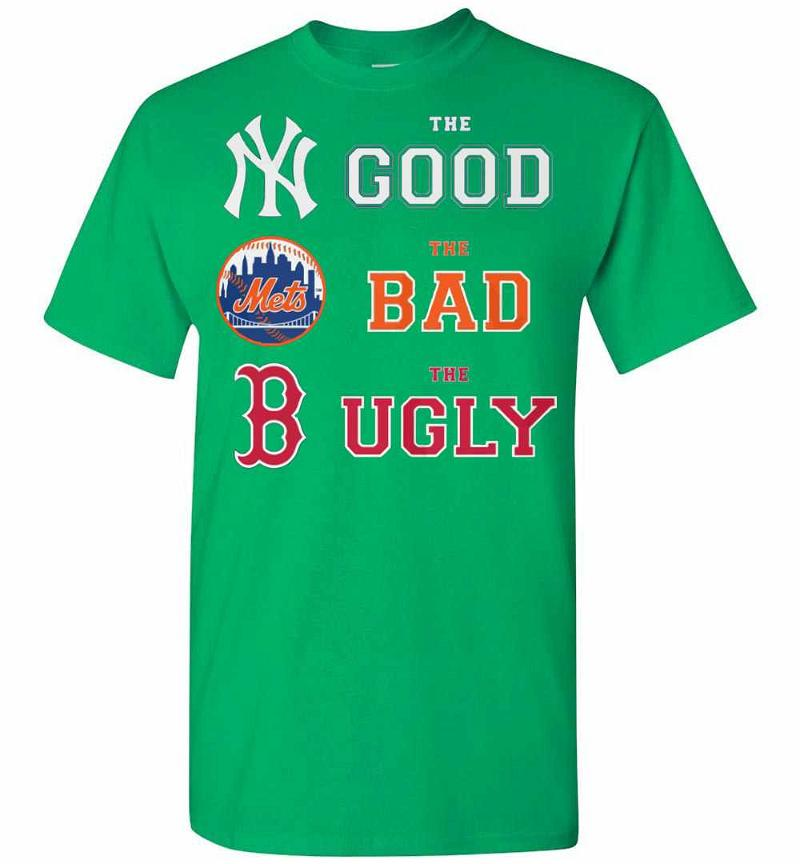 The Good New York Yankees The Bad New York Mets The Ugly Men's T-shirt Inktee Store