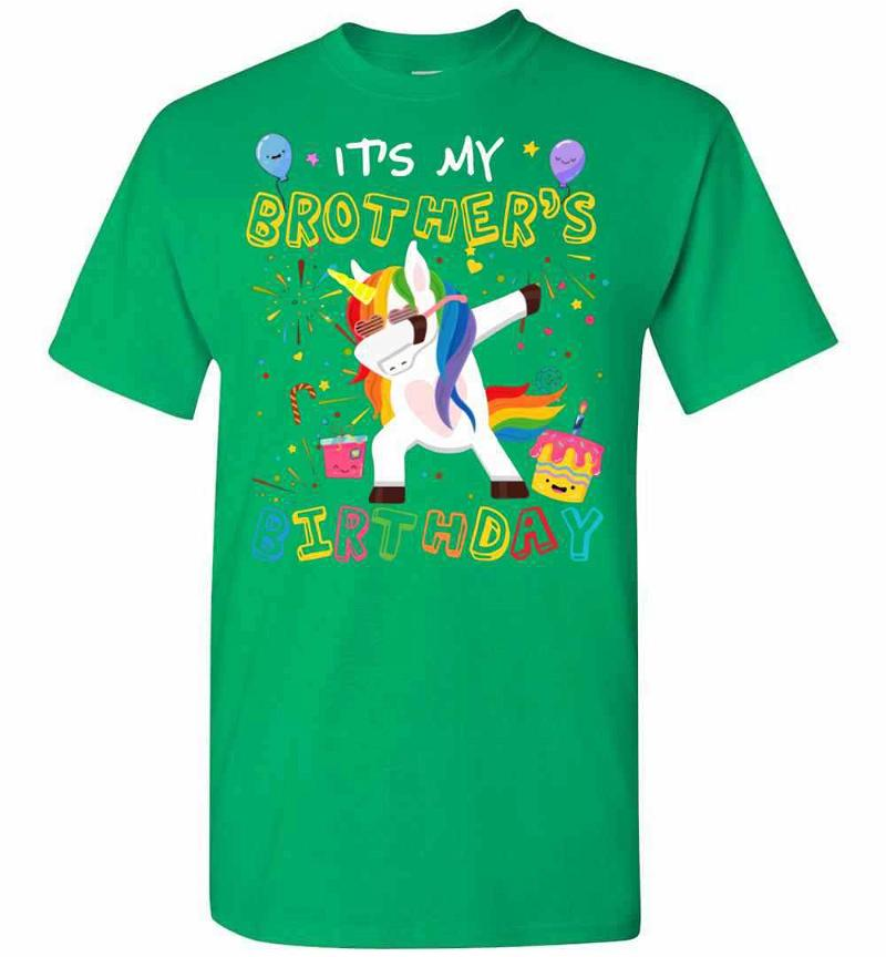 Awesome It's My Brother's Birthday Funny Kid Men's T-shirt Inktee Store