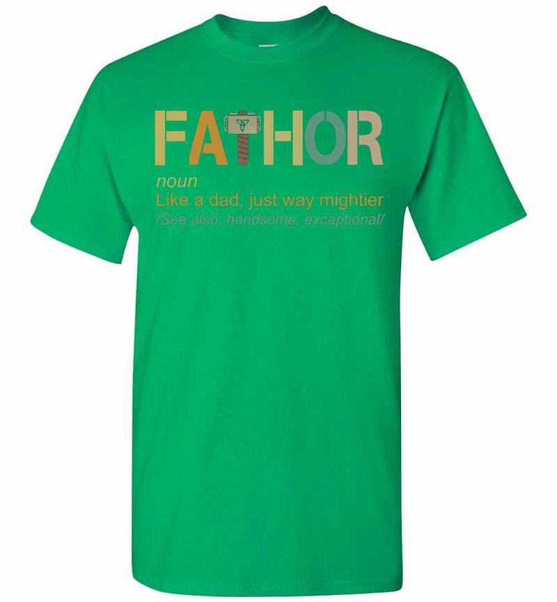 Fathor Like A Dad Just Way Mightier Men's T-shirt Inktee Store