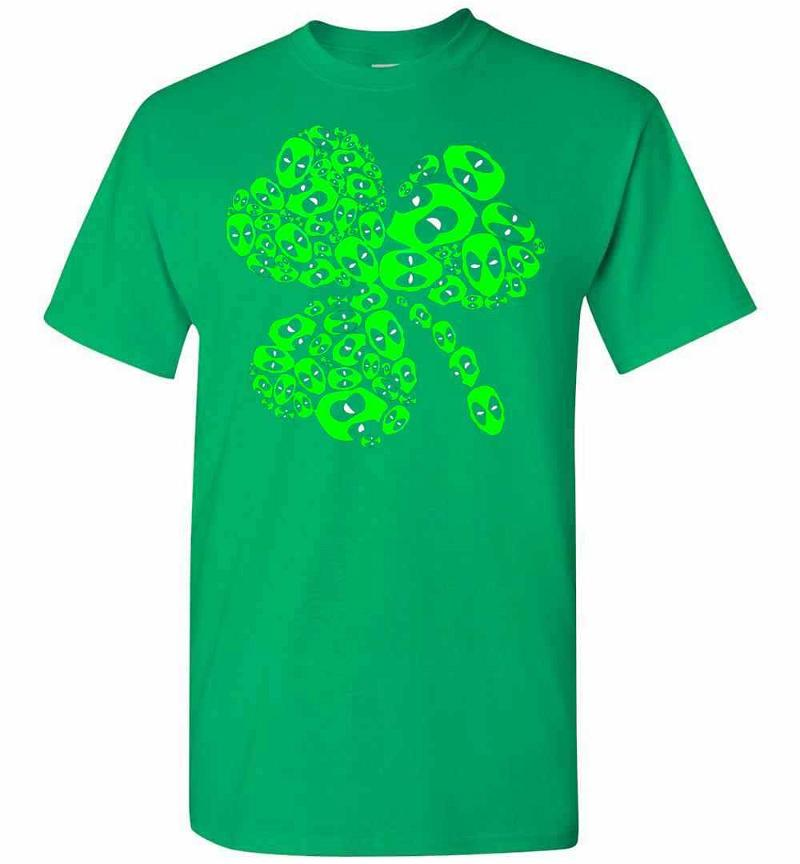 Deapool Saint Patrick's Day Men's T-shirt Inktee Store