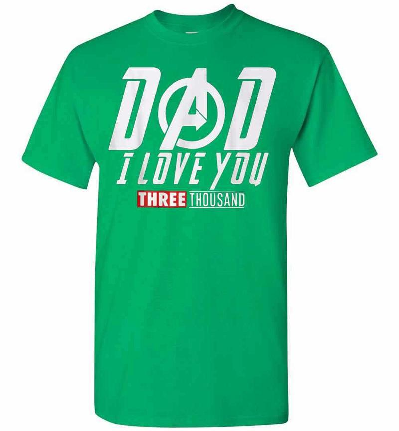 Dad I Love You Three Thousand Men's T-shirt Inktee Store