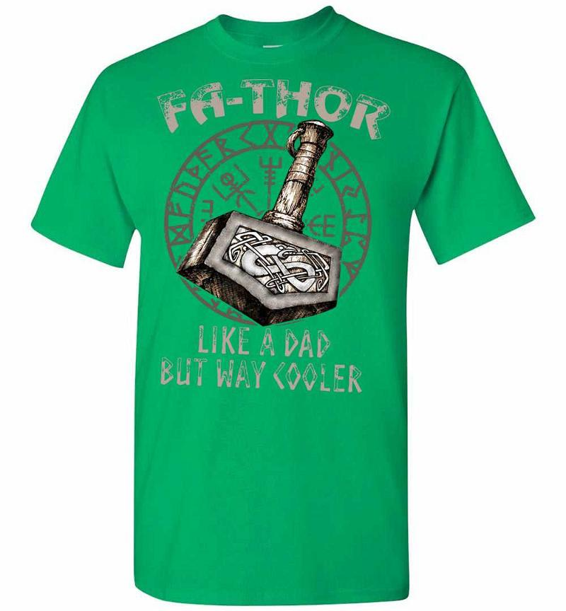 Marvel Avengers Fa-Thor Like A Dad But Way Cooler Men's T-shirt Inktee Store