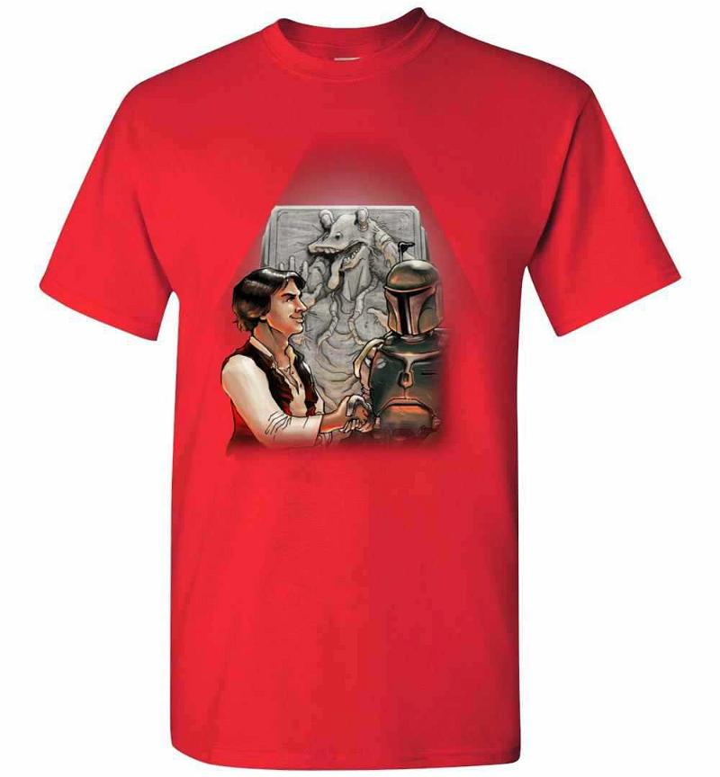The Star Wars Anthology Han Solo And Boba Fett Men's T-shirt Inktee Store