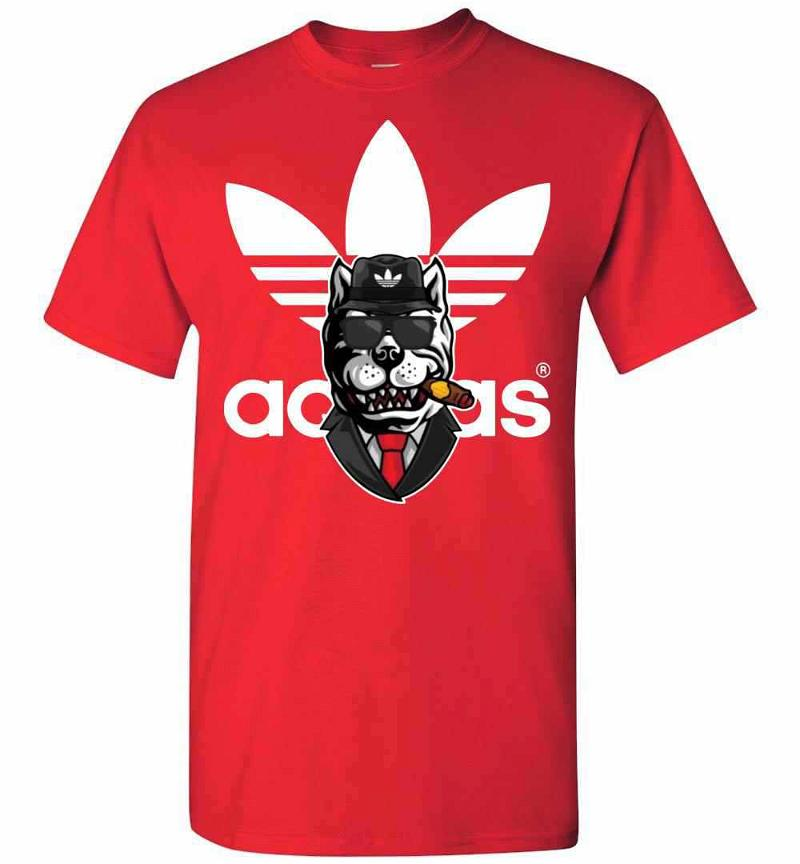 Adidas Cool Pit Bull Men's T-shirt Inktee Store