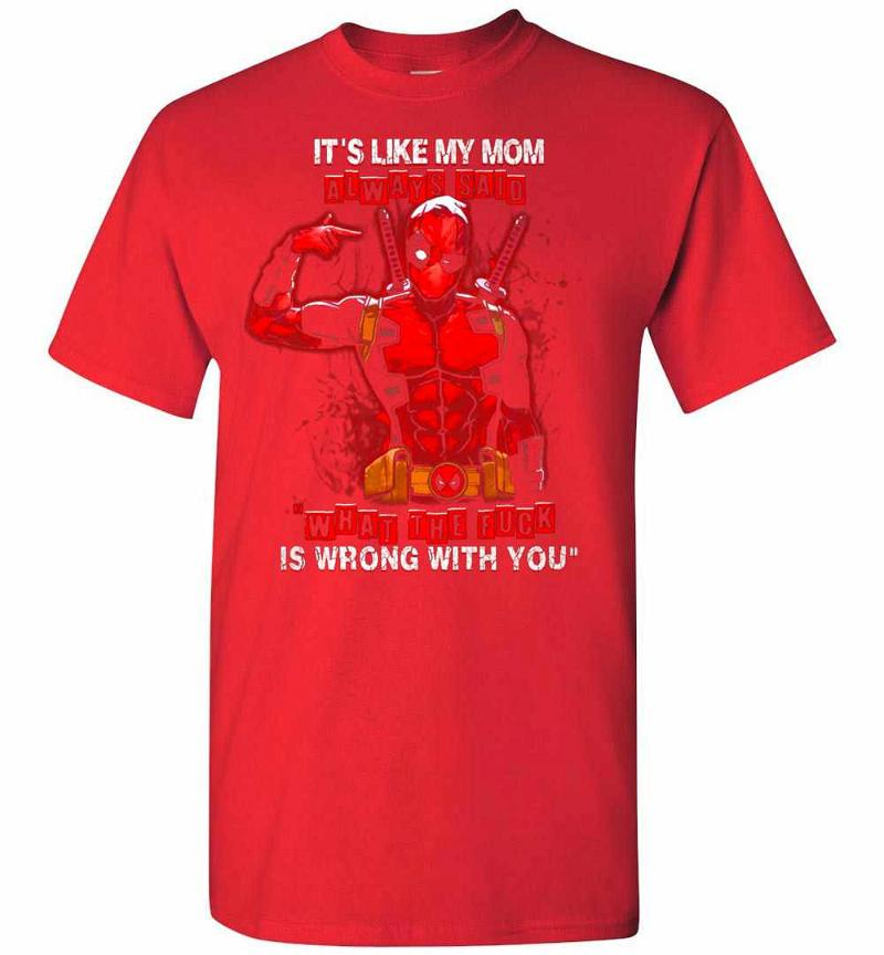 Deadpool What The Fuck Is Wrong With You Men's T-shirt Inktee Store