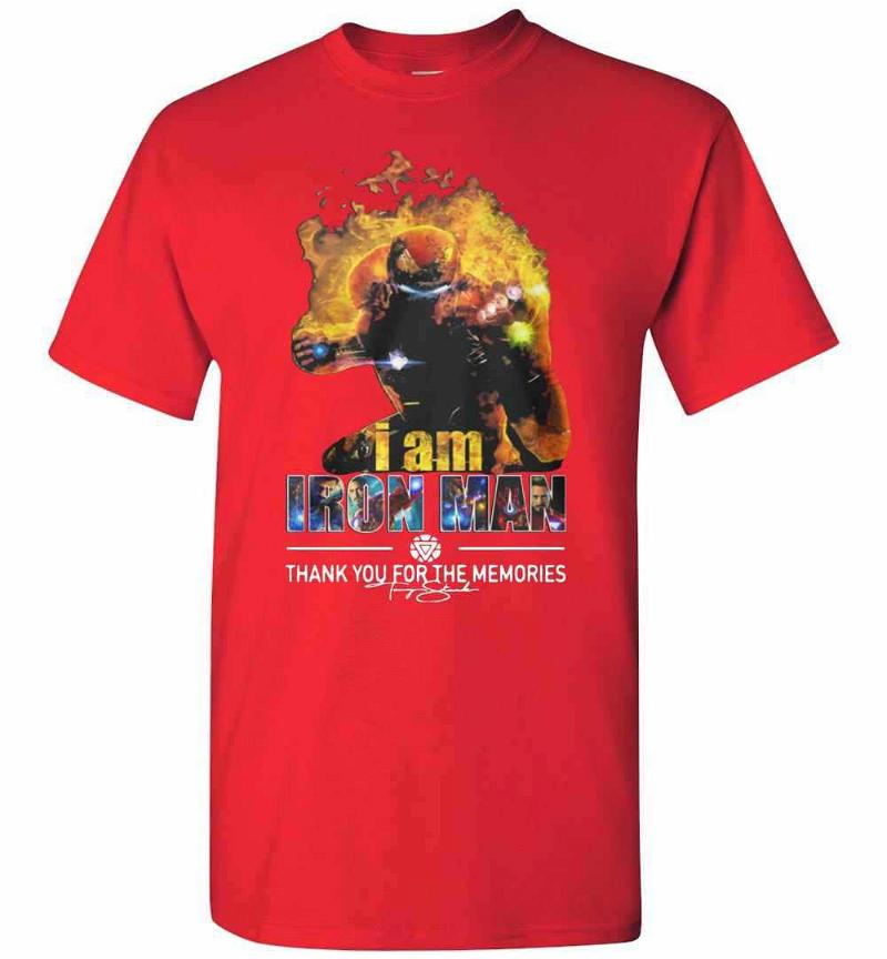I Am Iron Man You For The Mimories Men's T-shirt Inktee Store