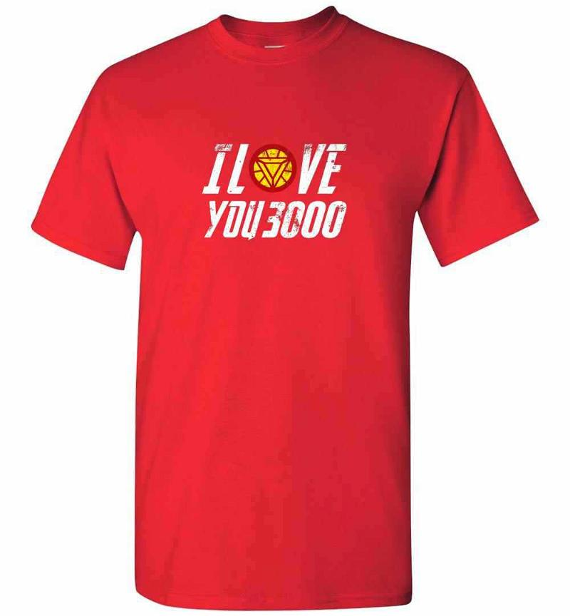 I Love You 3000 Avengers Iron Man Gift Dad And Daughter Men's T-shirt Inktee Store