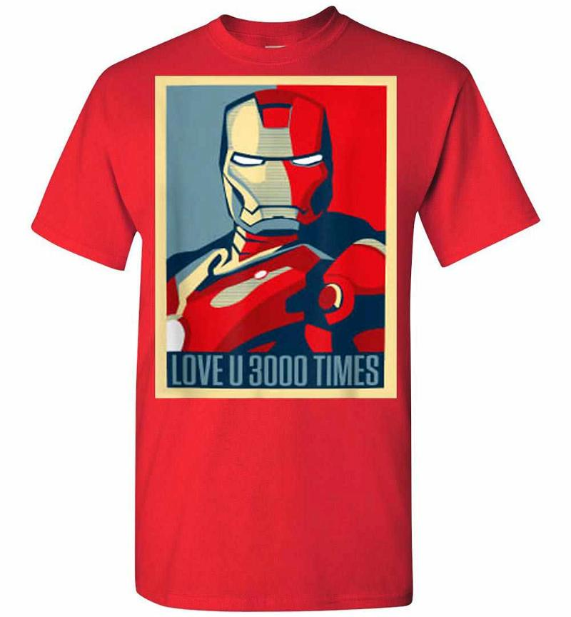 Dad I Love You 3000 – Iron Man Marvel Men's T-shirt Inktee Store