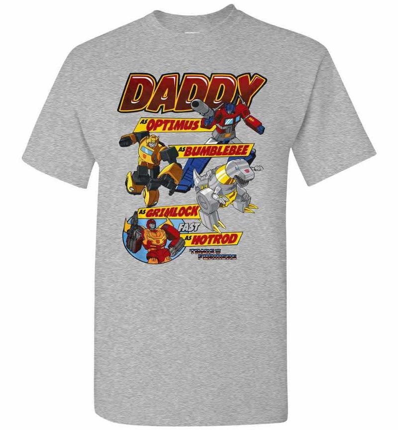 Autobots Father's Day Transformers Men's T-shirt Inktee Store