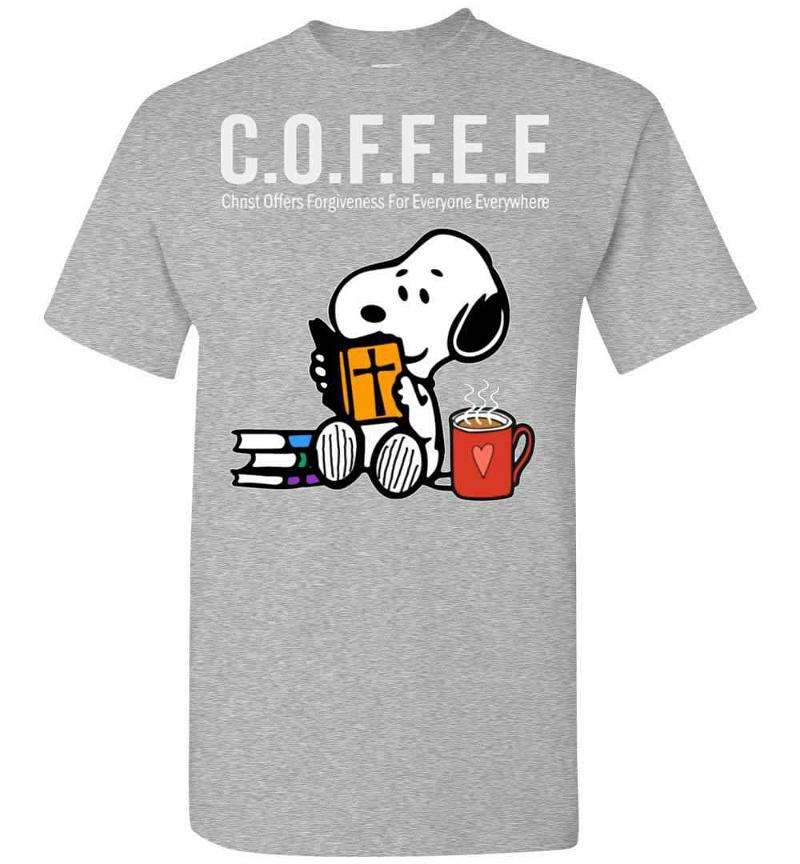Coffee Is Christ Officers Forgiveness For Everyone Men's T-shirt Inktee Store