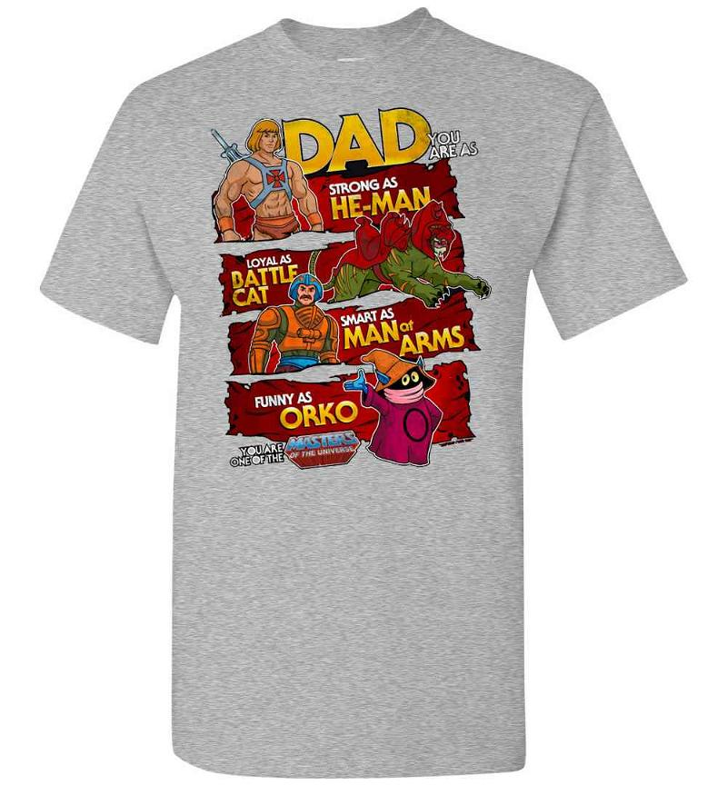 Father's Day He-man Men's T-shirt Inktee Store