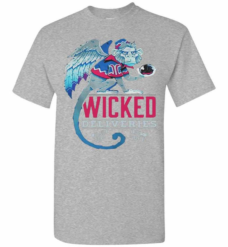 Monkey Wicked Deliveries We Pick Up And Drop Off Men's T-shirt Inktee Store