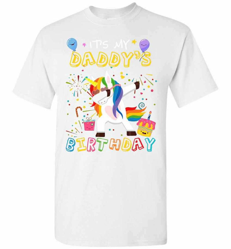 Awesome It's My Daddy's Birthday Funny Kid Men's T-shirt Inktee Store