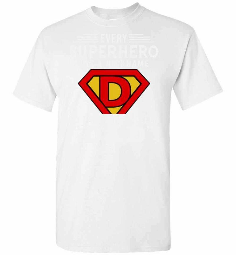 Every Superhero Has A Nickname My Favorite Is Called Dad Men's T-shirt Inktee Store