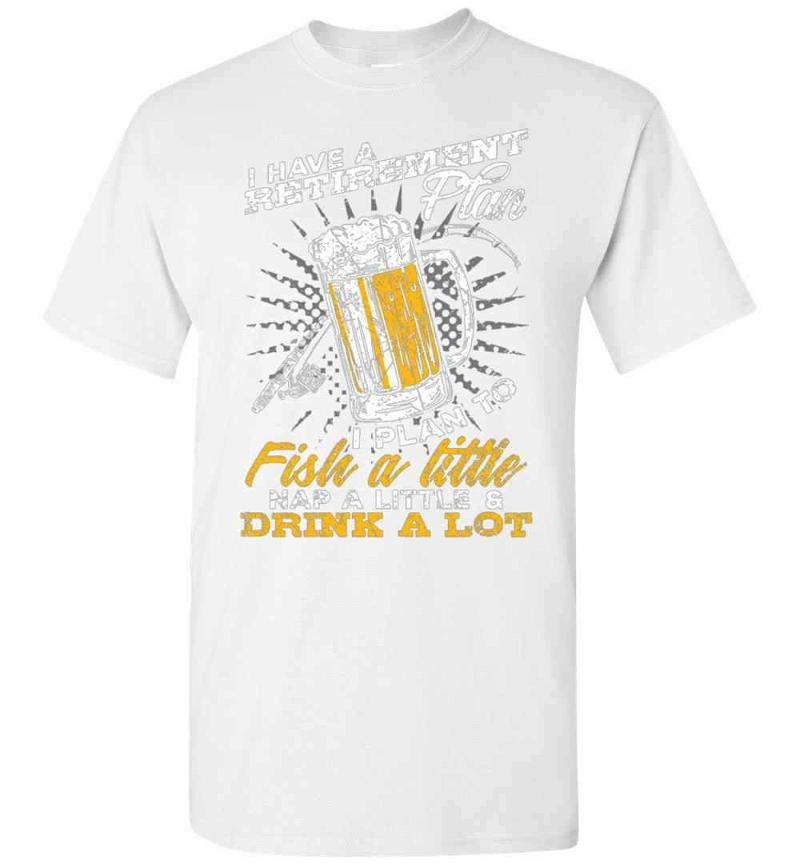 Fishing And Beer Angler Sport Fisherman Fish Gifts Men's T-shirt Inktee Store