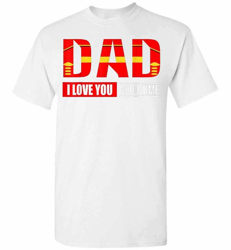 I Love You 3000 Times Iron Man Men's T-shirt Inktee Store