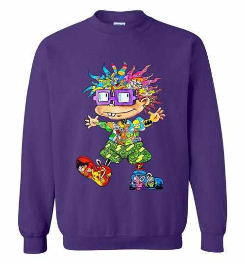 The 90s All Character Chuckie Finster Sweatshirt Inktee Store
