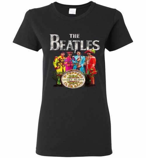 The Beatles Sgt. Peppers Women's T-shirt Inktee Store