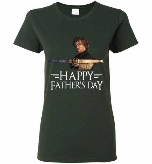Tyrion Lannister Happy Father's Day Women's T-shirt Inktee Store