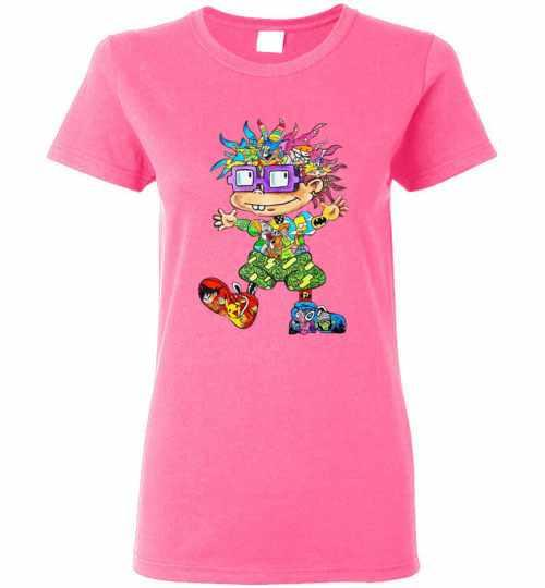 The 90s All Character Chuckie Finster Women's T-shirt Inktee Store