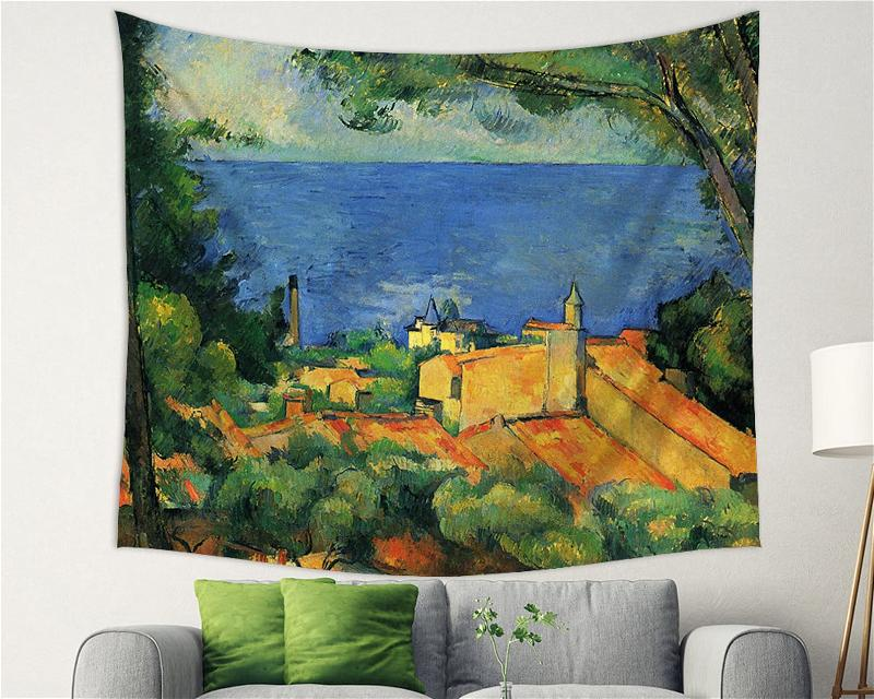 Life Is Like A Landscape Matisse Backdrop Decor Tapestry