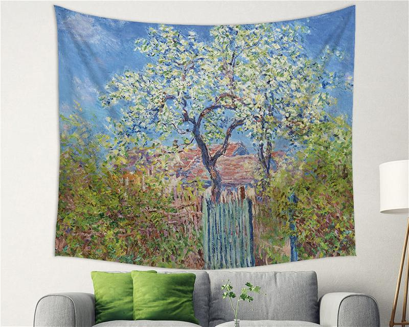 Where Flowers Bloom There Is Hope Tapestry